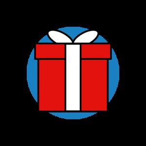Icon Geschenke und Gutscheine
