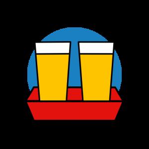 Icon Gläserverleih für Feste